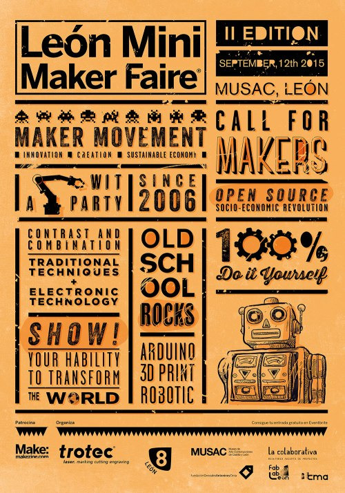Mini Maker Faire Leon 2015